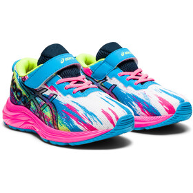 asics Pre Noosa Tri 13 PS Shoes Kids, digital aqua/hot pink